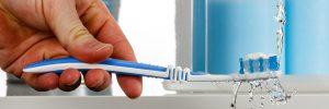 Tandenborstel delen een goed idee?