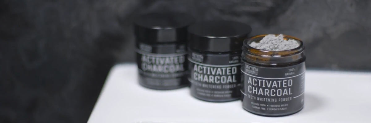 Tanden bleken met Activated Charcoal
