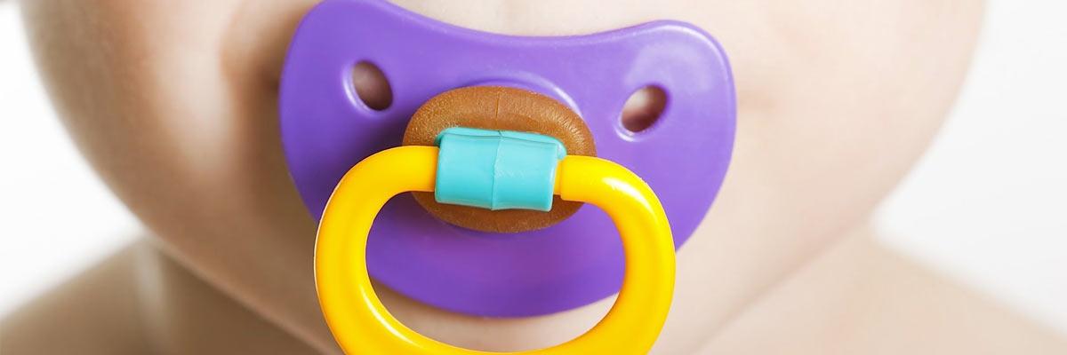 Een speen slecht voor de baby? Tips om te stoppen met de speen.